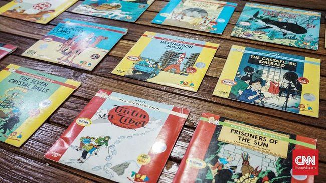 Kolektor Tintin, Andari Karina Anom. CNN Indonesia/Agniya Khoiri
