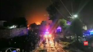 VIDEO: Pipa Bahan Bakar Meksiko Meledak, 21 Orang Tewas