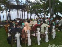 Romantis! Suasana Di Lokasi Pernikahan Randy Pangalila Dan Chelsea Frank