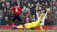 Babak I Man United Vs Brighton: Pogba-Rashford Bawa Setan Merah Unggul