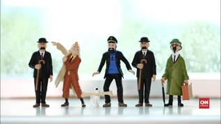 VIDEO: Perkenalan Singkat dengan Karakter dalam Dunia Tintin