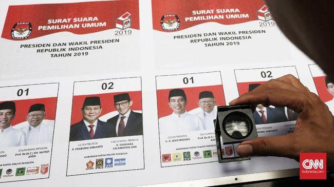 Bawaslu minta pemilu 2019 di Malaysia dihentikan usai beredar video penemuan surat suara tercoblos untuk paslon 01 Joko Widodo-Ma'ruf Amin.
