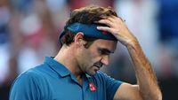 Roger Federer Ditumbangkan Petenis Muda Yunani