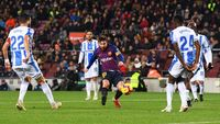 Hasil Liga Spanyol: Dembele, Suarez, Messi Antar Barcelona Atasi Leganes