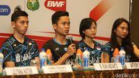 Hasrat Anthony Pertahankan Gelar Di Indonesia Masters