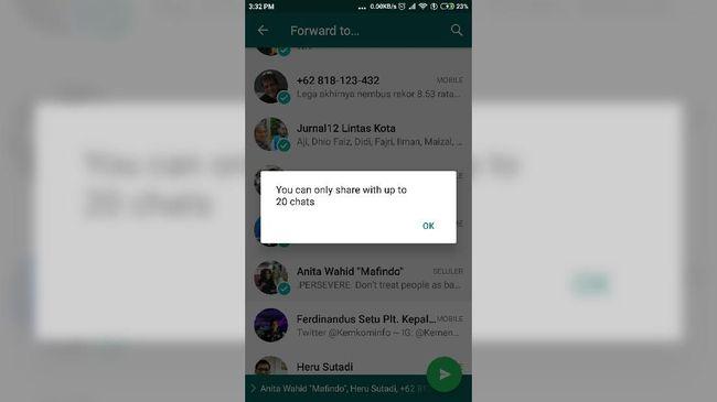 Fitur WhatsApp ini dapat digunakan ketika menggunakan telepon yang sama ataupun berganti ke telepon yang baru.
