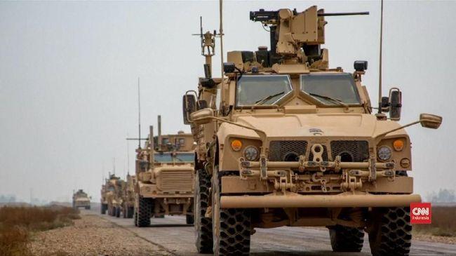 Pasukan AS dan Turki mulai berpatroli bersama di Suriah bagian timur untuk meredakan ketegangan antara Ankara dan pasukan Kurdi yang didukung AS.