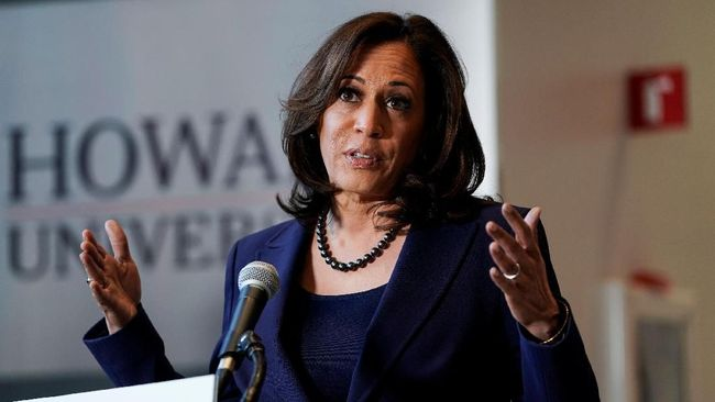 Senator Partai Demokrat Kamala Harris mengumumkan ambisi jadi presiden perempuan keturunan Afrika pertama AS dengan mencalonkan diri dalam pilpres 2020.