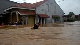 Banjir Masamba, Rumah Dinas Bupati Luwu Utara Terendam Air