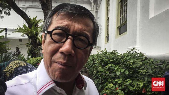 Menkumham Yasonna Laoly mengungkap WNA asal China paling banyak memasuki Indonesia pada Januari 2020, namun menurun drastis pada Februari dan Maret.
