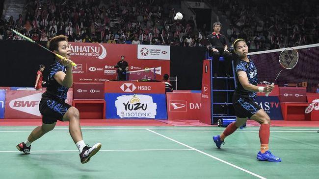 Ganda putri Indonesia Greysia Polii/Apriyani Rahayu mengaku kelelahan meski menang dua gim langsung di babak pertama Indonesia Masters 2019.