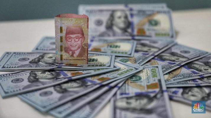Pukul 09:00 WIB: Rupiah Melemah ke Rp 14.160/US$