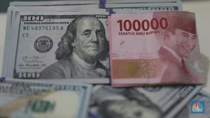 Rupiah Tembus 14.900/US$, Terlemah Sejak November 2018