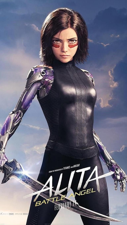 Alita. Diperankan oleh Rosa Salazar, karakter ini berusaha untuk mencari masa lalu dan mengetahui tujuan hidupnya.