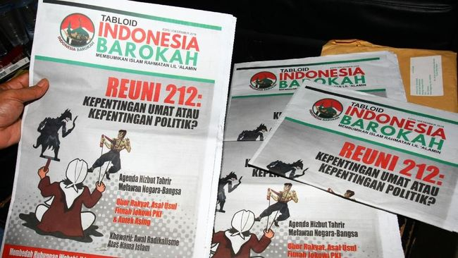 BPN Laporkan Tabloid Indonesia Barokah ke Dewan Pers