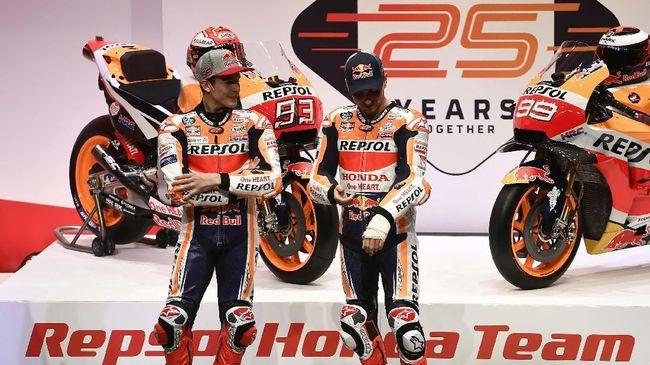 Marc Marquez mengenang momen ketika ia dimarahi oleh Jorge Lorenzo yang baru saja jadi juara dunia MotoGP di tahun 2010.