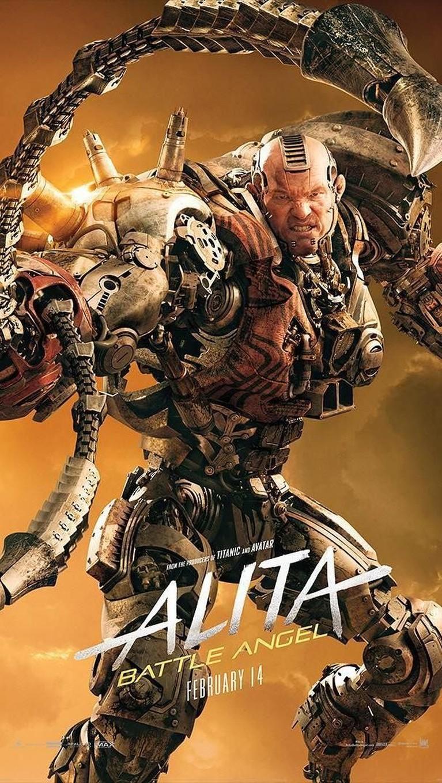 Grewishka. Sosok cyborg besar yang diadaptasi dari video animasi, Battle Angel OVA