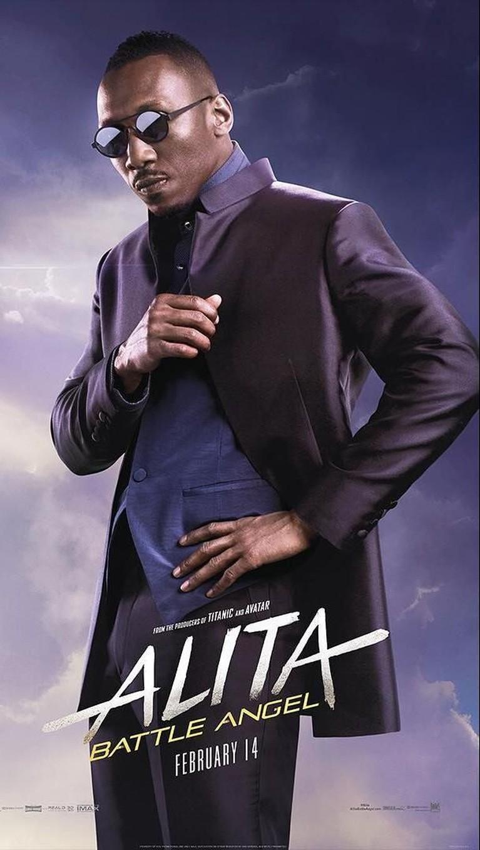 Vector. Diperankan oleh Mahershala Ali, sosok ini dikisahkan untuk tak akan berhenti untuk menghancurkan Alita.