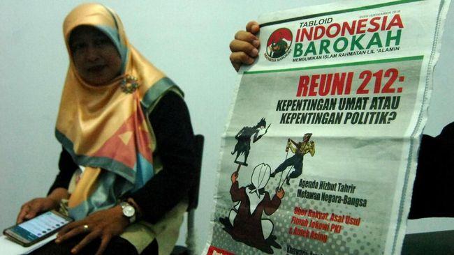 TKN Jokowi-Ma'ruf menegaskan bahwa isi artikel yang terkandung dalam tabloid Indonesia Barokah menampilkan fakta dan data untuk disajikan kepada masyarakat.