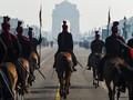 FOTO: Paspampres India Unjuk Kegagahan di Parade Kemerdekaan