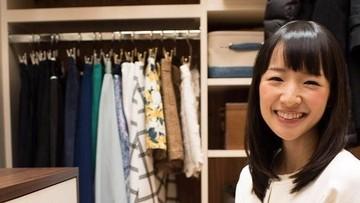 Gemas! Melihat Anak Marie Kondo Jago Melipat Baju di Usia 2 Tahun