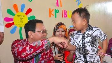 Melihat Lagi Kedekatan Ahok dengan Anak-anak