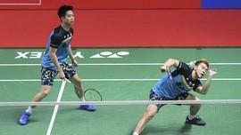 Kevin/Marcus Lolos ke Semifinal Kejuaraan Asia