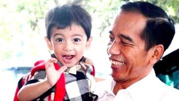 Mencuri Perhatian, Saat Jan Ethes Ikut ke Mana Pun Jokowi Pergi