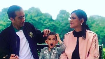Debat Soal Jan Ethes, Antara Pro - Kontra Jokowi Ajak Cucu