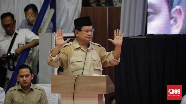 Prabowo Subianto heran dengan kasus Ahmad Dhani karena menurutnya, Dhani tidak menyampaikan kalimat yang menyinggung orang lain.