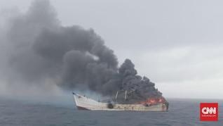 Kapal Terbakar di Laut Jawa, 26 Penumpang Selamat
