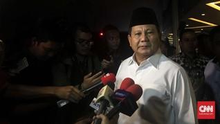 Cerita Prabowo Ingin Bangun Klub Bola yang Masuk Piala Dunia