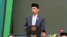 VIDEO: Jokowi Singgung Islam Moderat di Harlah Muslimat NU