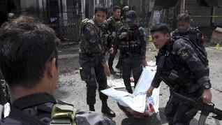 Rangkaian Bom di Mindanao, 1 Polisi Tewas dan 8 Tentara Luka