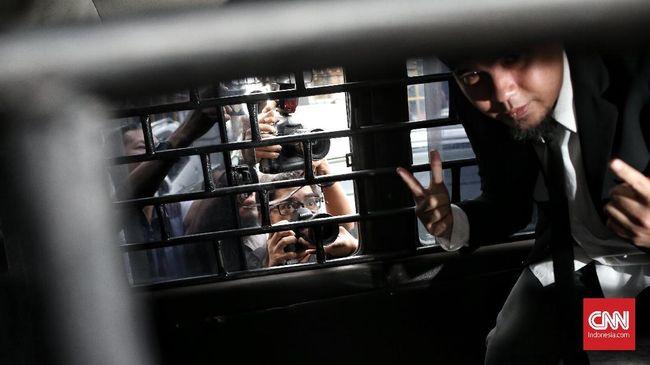 Ahmad Dhani Langsung Dijebloskan ke Penjara