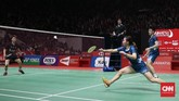 Liliyana Natsir mengalami kekalahan di pertandingan terakhir sebagai pebulutangkis setelah kalah dari Zheng Siwei/Huang Yaqiong di final Indonesia Masters 2019.
