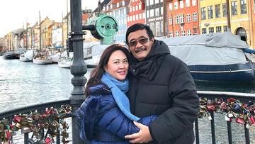 Menikah 19 Tahun, Kemesraan Djarot & Happy Senantiasa Awet