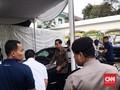 Jokowi Melayat Eka Tjipta di Rumah Duka RSPAD Gatot Soebroto