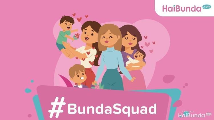 Halo para Komunitas Bunda! Yuk kita kenalan dalam #bundasquad. Dapat hadiah sekaligus ditayangkan di HaiBunda, lho!