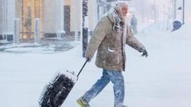 FOTO: Amerika Serikat Menggigil Diterpa Musim Dingin Ekstrem