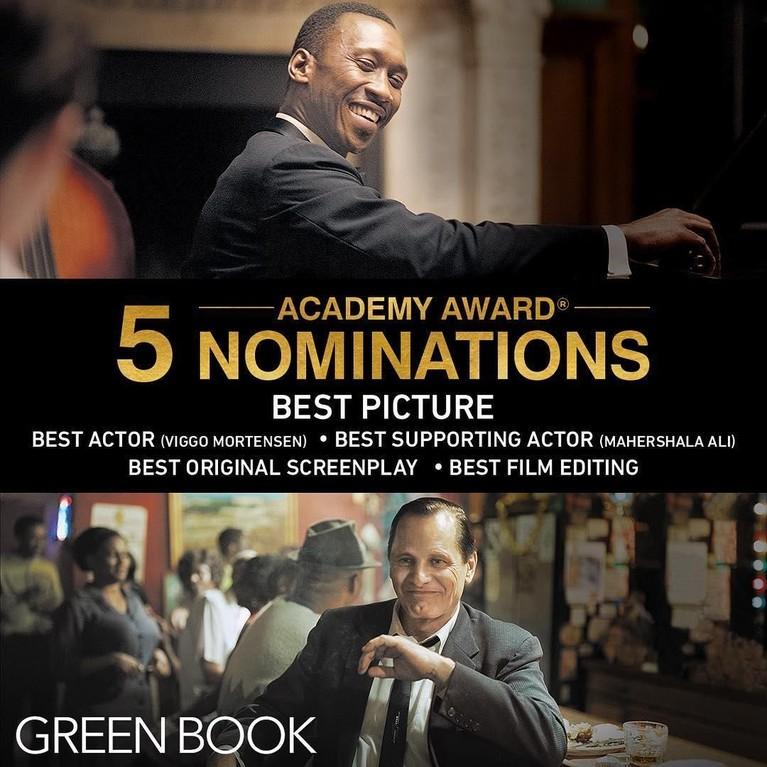 Masuk ke dalam lima nominasi ajang penghargaan Academy Award atau Oscar 2019. Termasuk kategori BestPicture dan Best Actor.