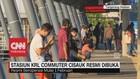 Stasiun KRL Cisauk Resmi Beroperasi