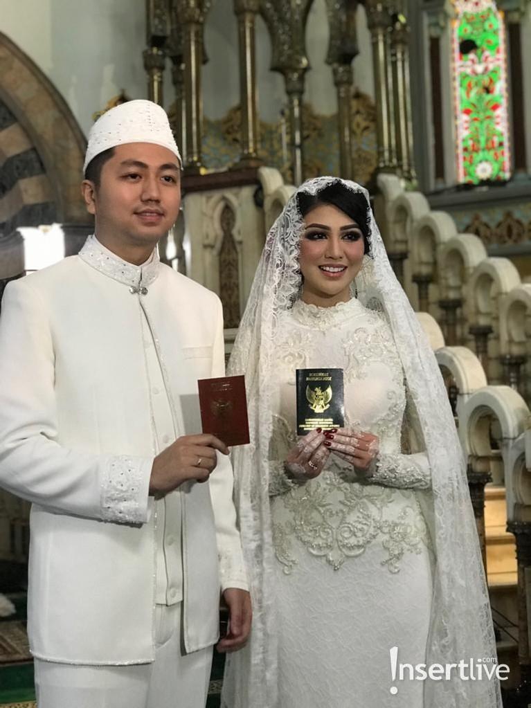 Selamat untuk Ariska Putri dan Tengku Ryan!