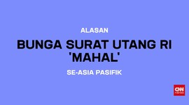 Alasan Bunga Surat Utang RI 'Mahal' se-Asia Pasifik