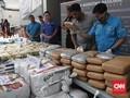 BNN Sita 250 Kg Sabu dan Ribuan Ekstasi di Bekasi