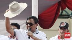 Gema Takbir Iringi Perjalanan Prabowo ke Lokasi Debat