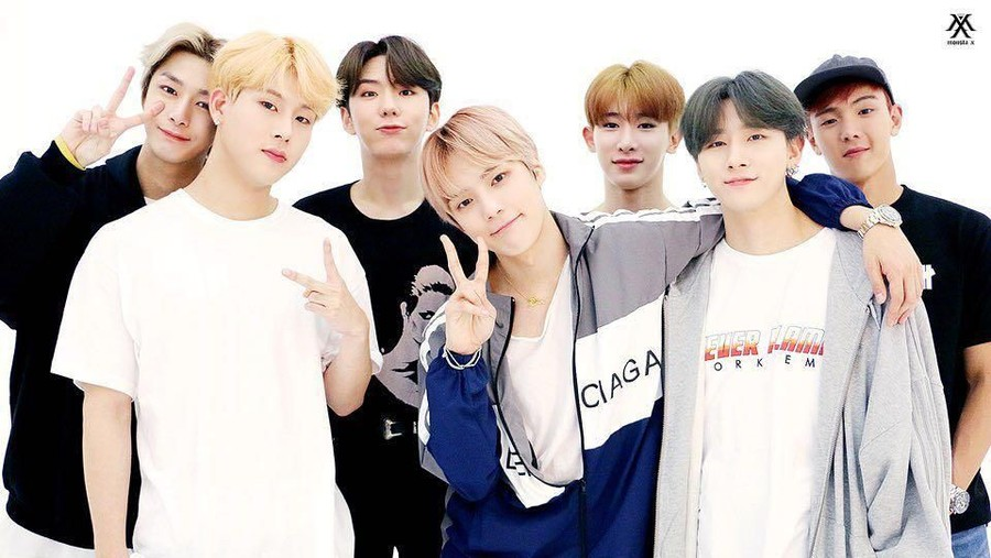 Monsta X Jadi Tamu Spesial di Kartun Animasi 'We Bare Bears'