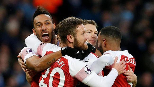 Arsenal berhasil lolos ke babak perempatfinal Liga Europa setelah menekuk Rennes dengan skor 3-0.