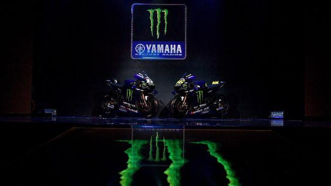 Monster Energy Yamaha dijadwalkan merilis motor untuk MotoGP 2021 pada 15 Februari mendatang secara online.