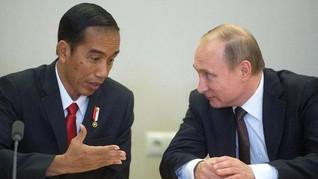 Putin Hubungi Jokowi Sampaikan Dukacita atas Tragedi Nanggala